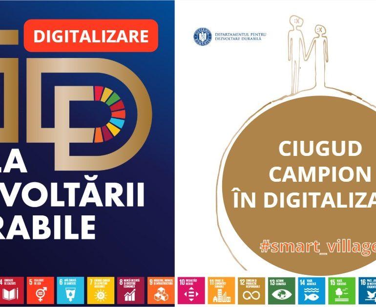 Comuna Ciugud – campioană națională în digitalizare la Gala Dezvoltării Durabile