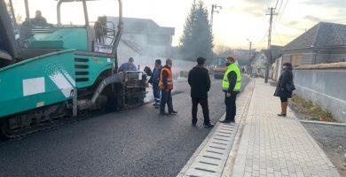 Încă 2 străzi modernizate de municipalitatea Sebeș