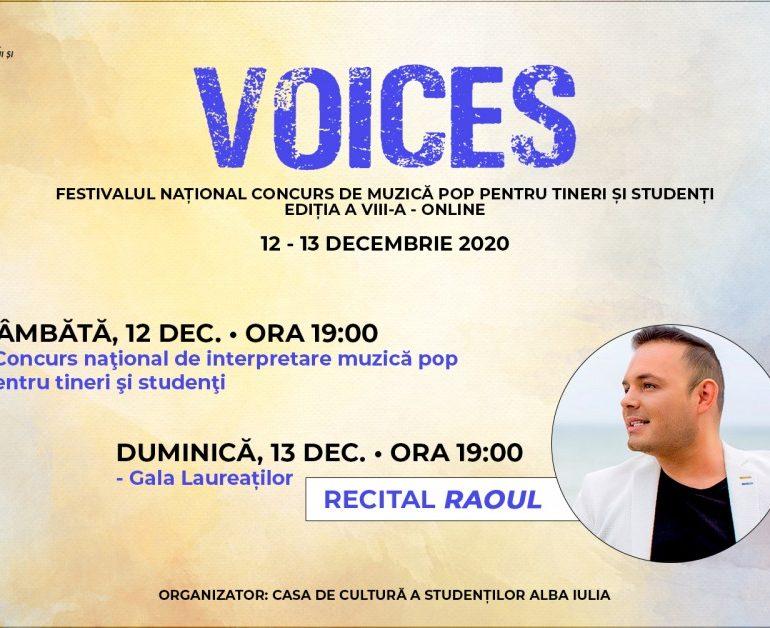 """12-13 decembrie: Festivalul Național """"Voices"""", la Alba Iulia"""