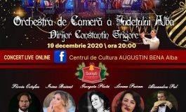 """Centrul de Cultură """"Augustin Bena"""" Alba: Concert extraordinar de colinde – eveniment fără public, transmis live on-line"""