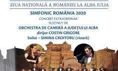 """Centrul de Cultură """"Augustin Bena"""" Alba: Simfonic România 2020 - concert extraordinar al Orchestrei de Cameră a Județului Alba"""
