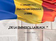 15 Ianuarie 2021: Ziua Culturii Naționale, la Sebeș
