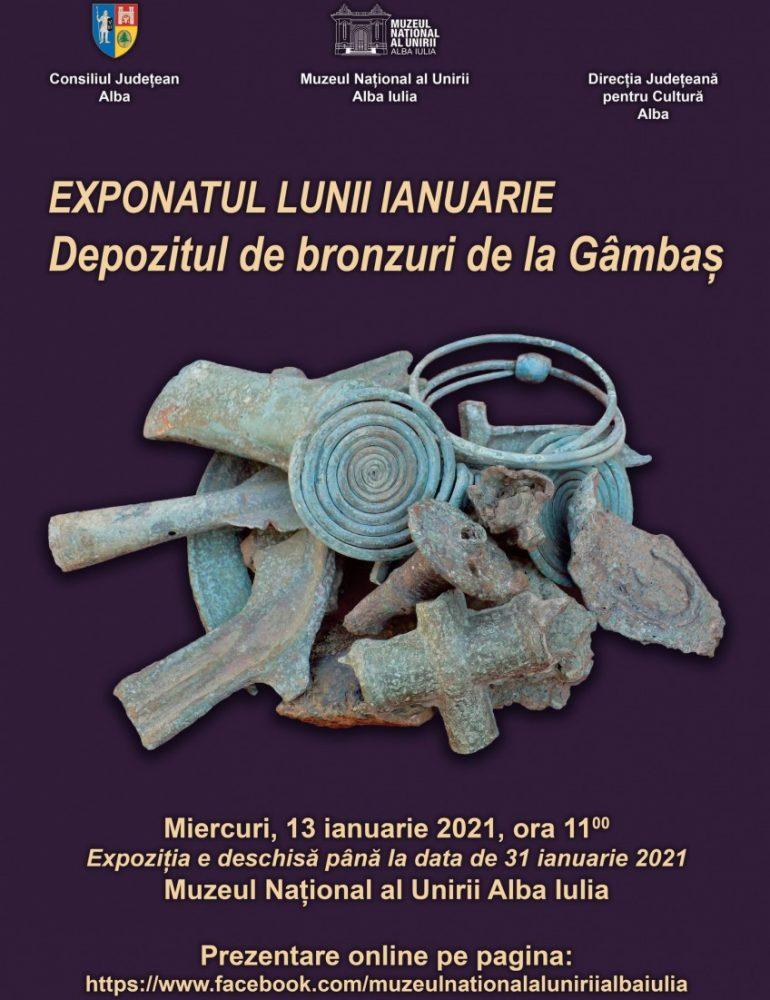 Miercuri: Exponatul lunii ianuarie la Muzeul Național al Unirii Alba Iulia