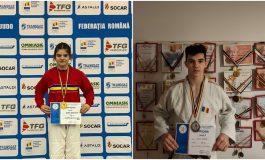 Victorii importante pentru judoka legitimați la CS Unirea Alba Iulia: Aur și argint la Campionatul Național U 18