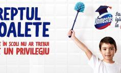 """Sute de elevii din județul Alba primesc """"Dreptul la toalete"""": Liceul cu program sportiv """"Florin Fleșeriu"""" a fost selectat în campania """"Domestos susține igiena în școli"""""""