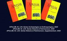 Vineri: Lansarea revistei Apulum. Acta Musei Apulensis