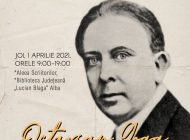 """Poetul Octavian Goga omagiat de Biblioteca Județeană """"Lucian Blaga"""" Alba la 140 de ani de la naștere"""