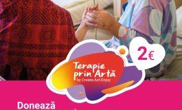 Terapie prin Artă by Create.Act.Enjoy, în 2021 revine la Alba-Iulia