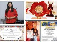 """Centrul de Cultură """"Augustin Bena"""" Alba: Premiu internațional obținut de o tânără din Alba la Festivalul """"Gold Art Fest"""" din Egipt"""