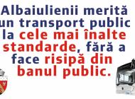 Primăria Alba Iulia a achitat restanțele către STP