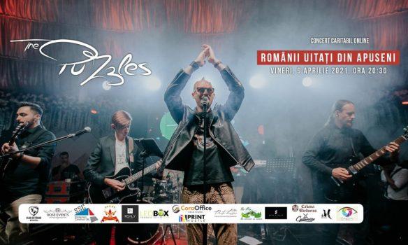 "9 Aprilie: Concert umanitar The PuZzles -""Românii uitați din Apuseni"""