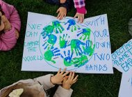 Preșcolarii Grădiniței P. P. Step by Step nr. 12 au sărbătorit Ziua Pământului