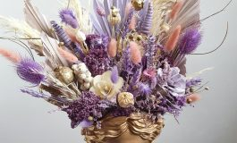 În atelier la Cristina: Despre aranjamentele din flori criogenate și uscate
