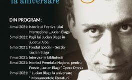 """Biblioteca Județeană """"Lucian Blaga"""" Alba îl omagiază pe Lucian Blaga la 126 de ani de la naștere"""
