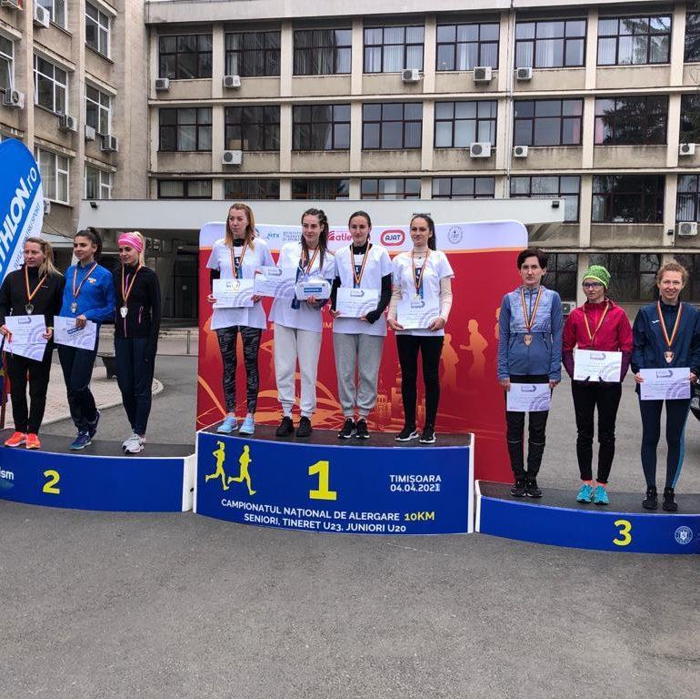 Medalie de bronz pentru echipa CS Unirea Alba Iulia la Campionatul Național de Alergare pe șosea