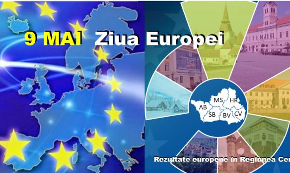 """Vă invităm în 9 Mai să spunem cu toții """"La mulți ani, Europa"""""""