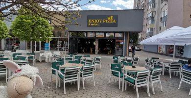 Enjoy Pizza & more... s-a mutat în casă nouă