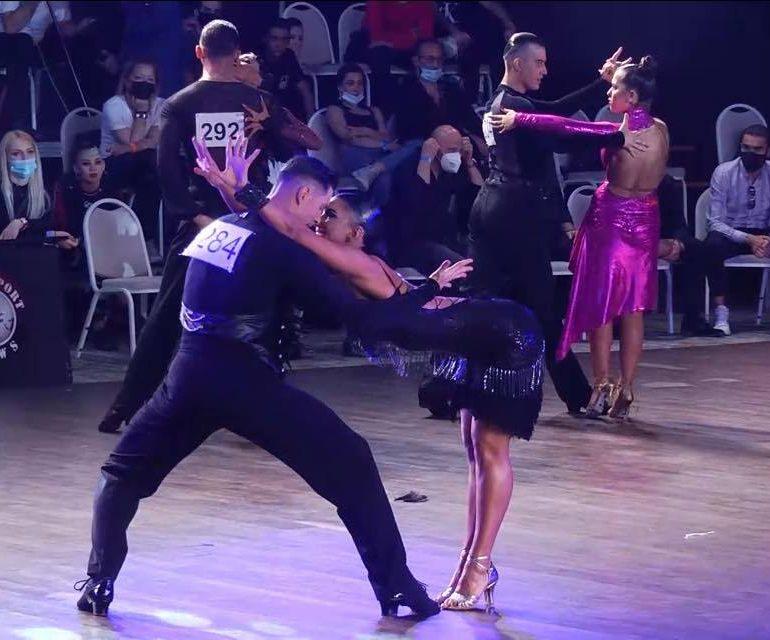 Campionatul Național al României la dans sportiv 2021! «Un ochi râde, altul plânge…»