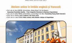 29 Mai: Festivitatea de premiere a Concursului național de traduceri literare şi de specialitate pentru studenți și elevi