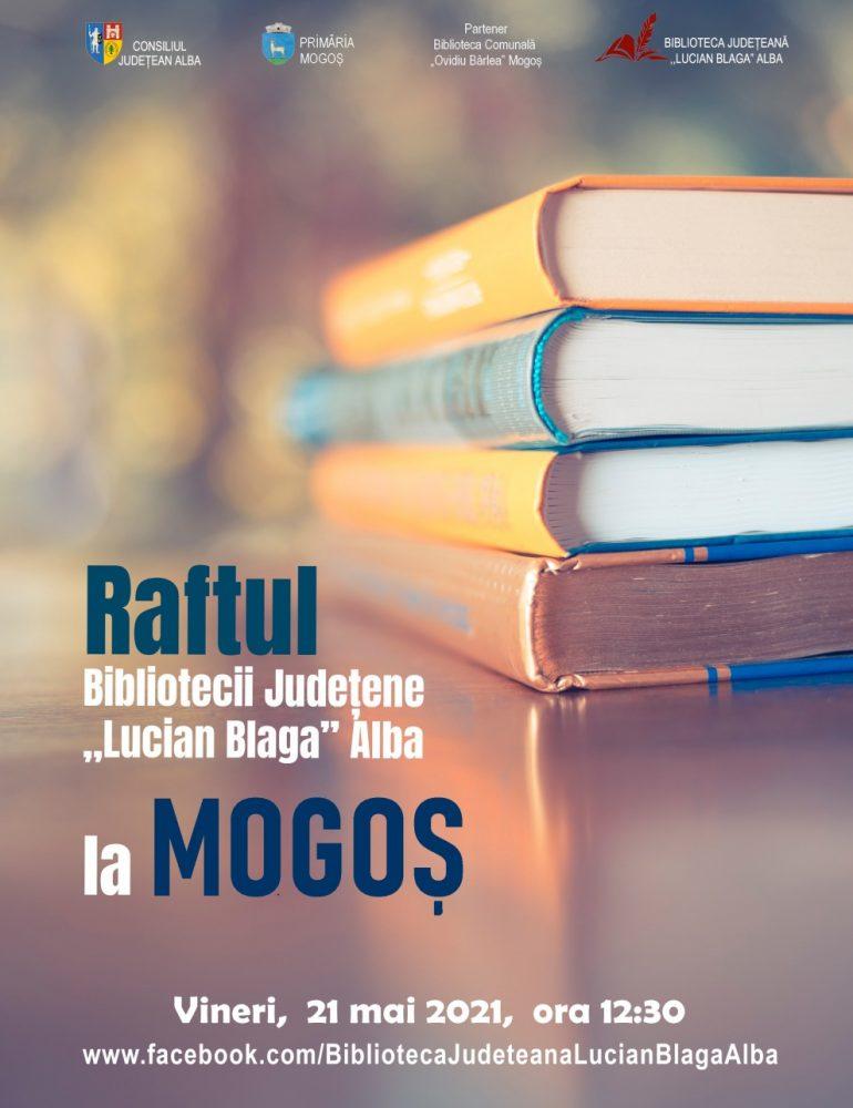 """Al doilea raft al Bibliotecii Județene """"Lucian Blaga"""" Alba poposește la Mogoș"""