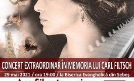 "Zilele Muzicale ""Carl Filtsch"" – concert extraordinar ""In memoriam Carl Filtsch"", în Biserica Evanghelică din Sebeș"