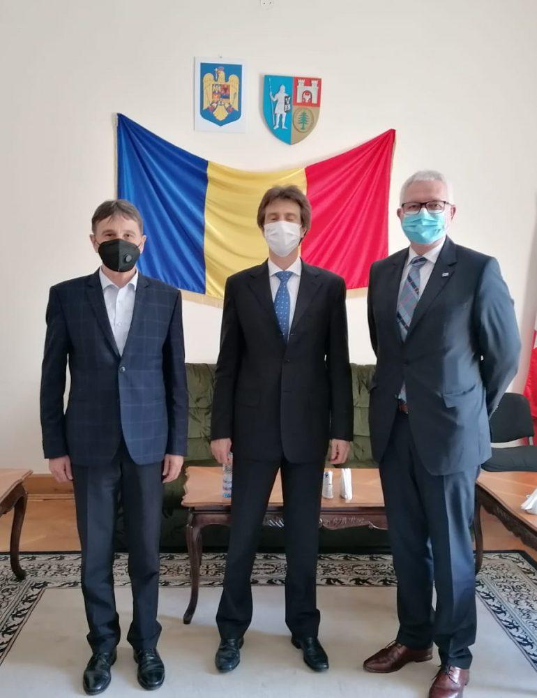 Vizita Consulului Republicii Federale Germania la Sibiu, Hans Erich Tischler, la Alba Iulia