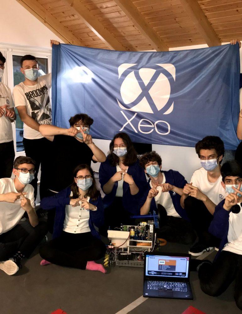 Echipa de robotică Xeo a Colegiului HCC din Alba Iulia continuă tradiția, pentru cel de-al patrulea an
