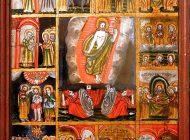 """Exponatul lunii mai, la Muzeul Municipal """"Ioan Raica"""" Sebeș: icoana pe sticlă """"Învierea lui Iisus, cu 12 scene de praznic"""""""