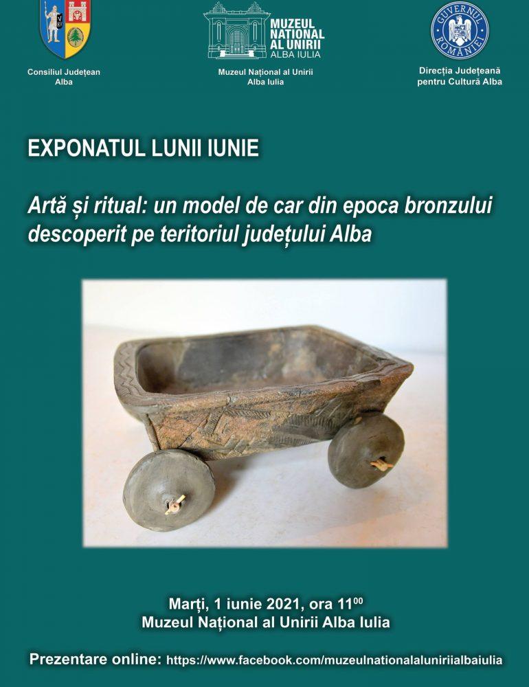 Marți: Exponatul lunii aprilie 2021, la Muzeul Național al Unirii din Alba Iulia