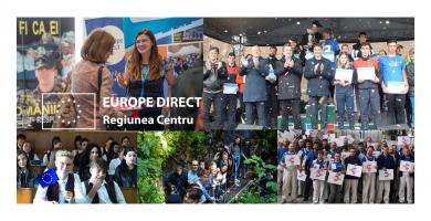 Vești bune! Europe Direct Regiunea Centru continuă evenimentele și acțiunile de informare a cetățenilor până în 2025