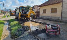 Sebeș: Avarie la conducta de apă de pe strada Călărași. O mare parte din oraș este afectată
