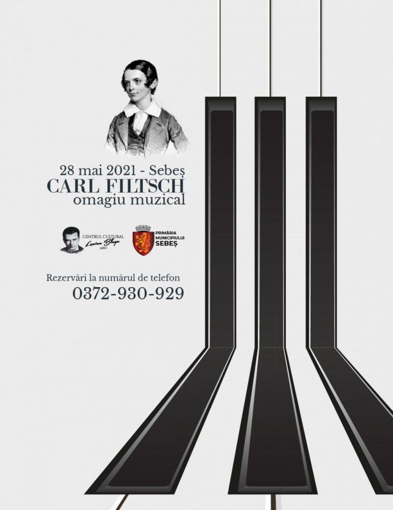 Vineri: Omagiu adus micului geniu muzical , Carl Filtsch, născut la Sebeș