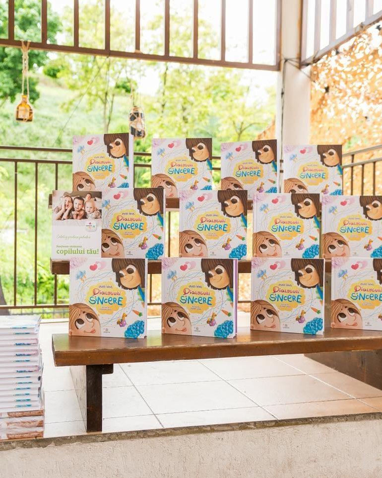 Lansare de carte pentru copii – Dialoguri sincere