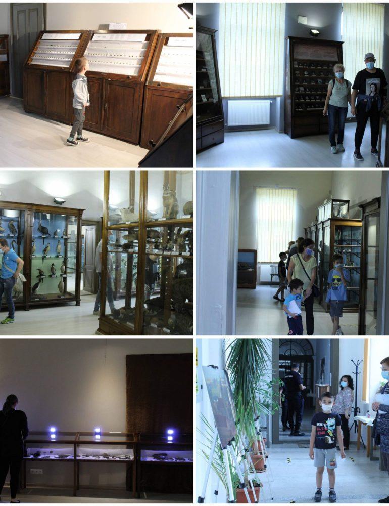 """Avem nevoie de cultură! Imaginile zilei: Tinerii, primii vizitatori în proiectul """"Noaptea muzeelor la Aiud """""""
