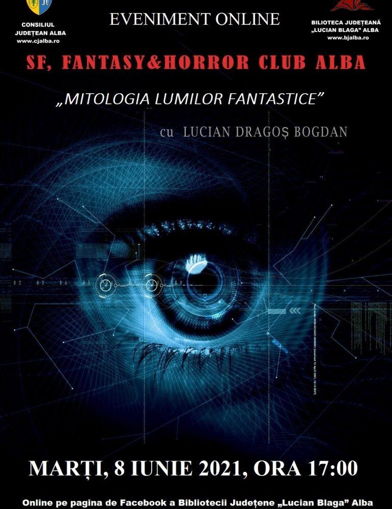 """O nouă ediție a clubului """"SF, Fantasy & Horror Club Alba"""", la Biblioteca Județeană """"Lucian Blaga"""" Alba"""
