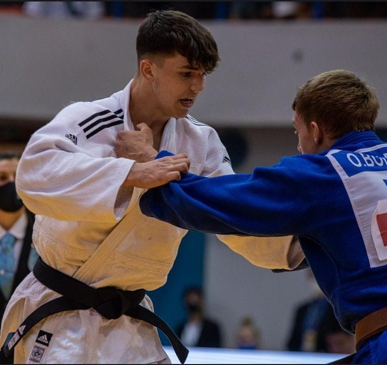 Alexandru Sibișan, judoka legitimat la CS Unirea Alba Iulia, rezultat foarte bun la o competiție europeană în Croația