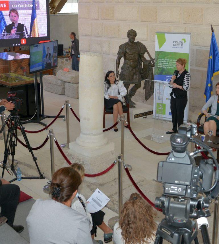 Conferința internațională privind economia circulară s-a bucurat de o largă audiență regională și internațională