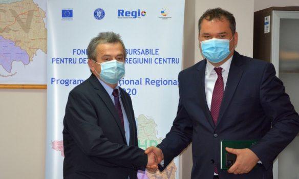 Ministrul Lucrărilor Publice Dezvoltării și Administrației a avut o importantă întrevedere de lucru la sediul ADR Centru din Alba Iulia