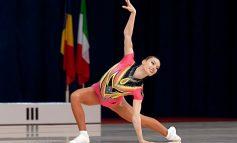 Gimnasta Flavia Sentea a dus Sebeșul în suflet pe podiumul mondialelor de gimnastică aerobică