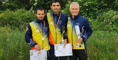 CS Unirea Alba Iulia își reconfirmă supremația la orientare: Locul 1 la Campionatul național pe echipe de la Baia Mare