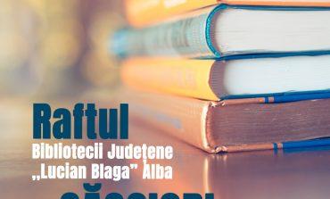 """Raftul Bibliotecii Județene """"Lucian Blaga"""" își continua traseul în județul Alba"""