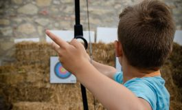 E-Archery este un proiect prin care atât cetățenii orașului Alba Iulia, cât și vizitatorii și turiștii, pot experimenta gratuit tragerea cu arcul