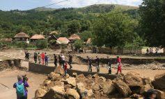 Crucea Roșie Română Filiala Alba, alături de sinistrații din zona munților Apuseni