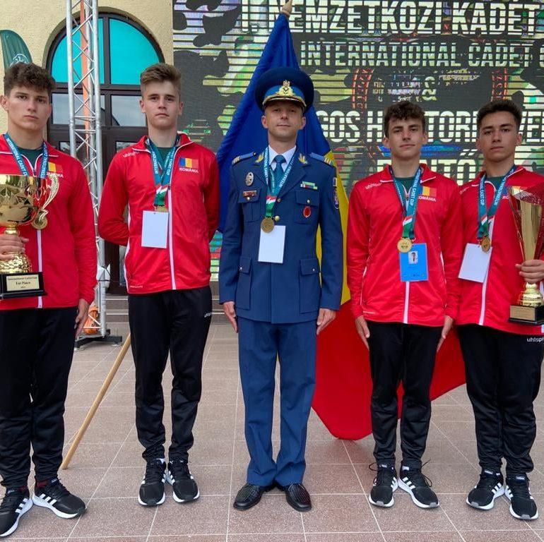"Am câștigat competiția ""1st International Cadet Cup"" din Ungaria!"