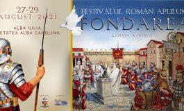 Haideți la Alba Iulia să călătoriți în timp, către perioada antică a orașului, prin intermediul Festivalului Roman Apulum