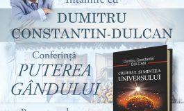"""Prof. dr. Dumitru Constantin DULCAN va conferenţia la Sebeș, sâmbătă, 10 iulie 2021, în cadrul Festivalului """"Lucian Blaga"""""""