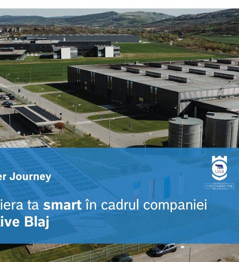 Bosch Automotive Blaj – Student smart career journey! Un nou proiect în sprijinul studenților UAB