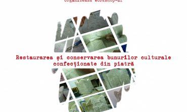 """Workshop inedit la muzeul din Sebeș, în luna august: """"Restaurarea și conservarea bunurilor culturale confecționate din piatră"""""""